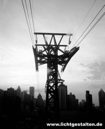 New York Manhattan Skyline 1994