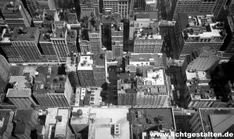New York Manhattan Skyline from Empire State Building 1994