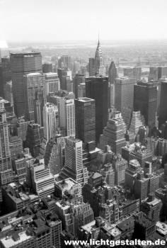 New York Manhattan Skyline Empire State Building 1994