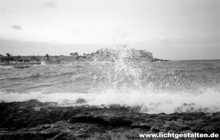 Malta Waves Beach Storm 1994