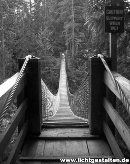 Vancouver Canada Hanging Bridge