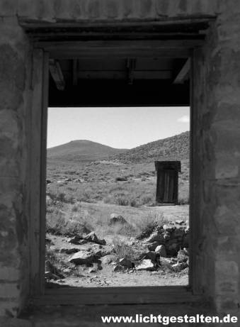 Nevada California Desert Ghost Town Silver Gold